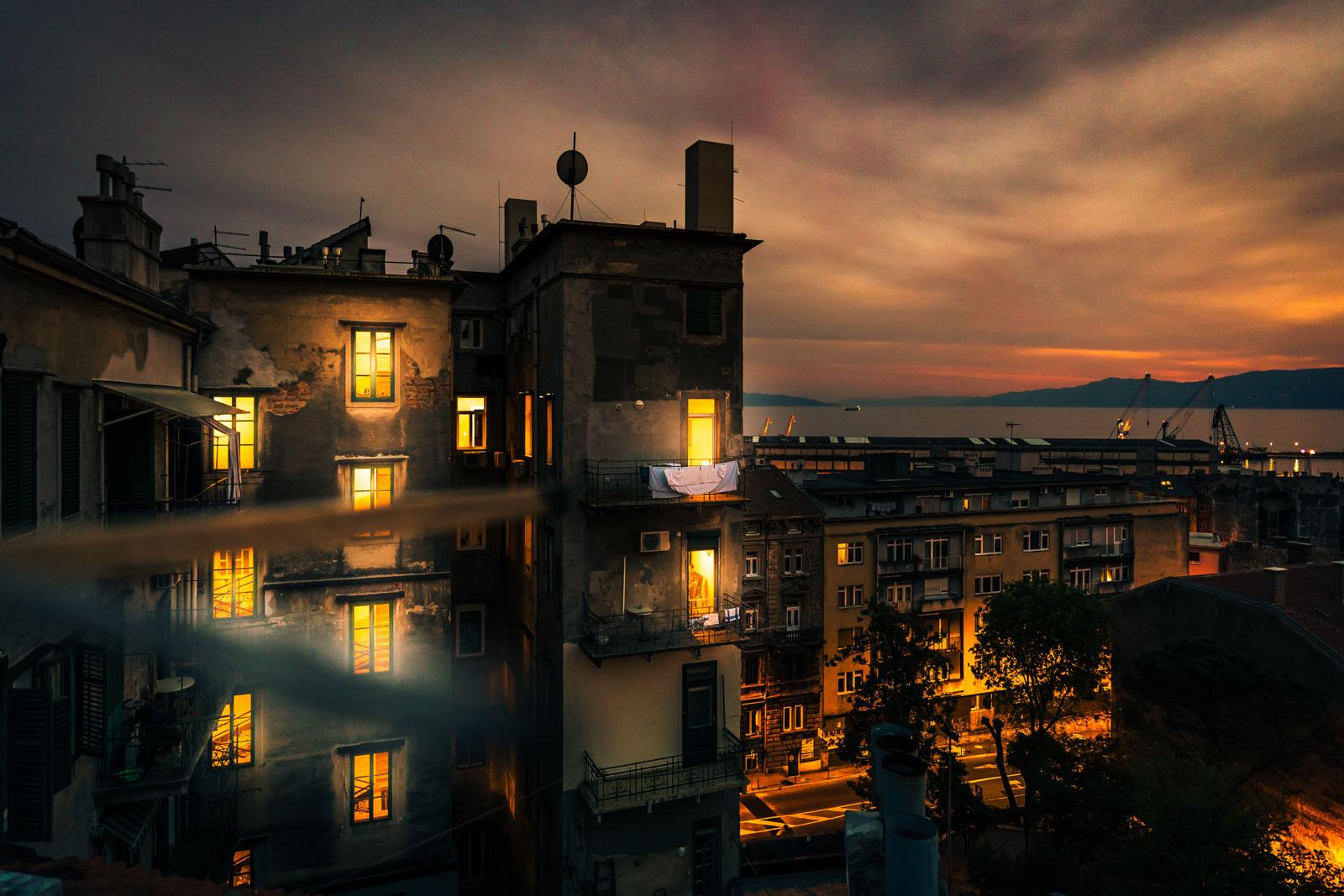 Fotografia Vladimir Soic - senny krajobraz dachu